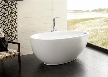 Baignoire design lot ovale d sire de jacuzzi chez aubade for Peindre une baignoire