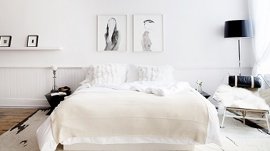 chambre blanche et d co zen on adore. Black Bedroom Furniture Sets. Home Design Ideas