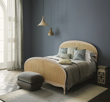 Une chambre bleu couleur douce Pewter peinture Zoffany