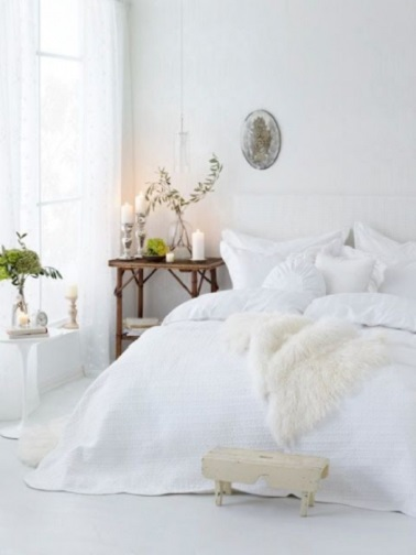 chambre d co cocooning blanche ikea. Black Bedroom Furniture Sets. Home Design Ideas