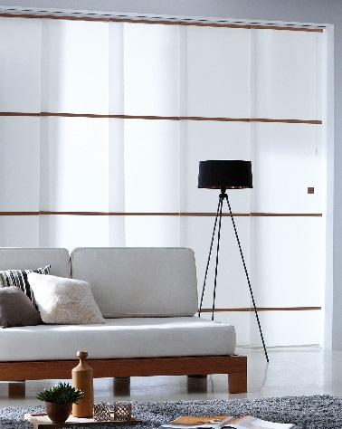 Des panneaux japonais peuvent servir de cloison amovible dans une pièce qui recherche de la légèreté. Cette technique est facile à mettre en oeuvre entre deux espaces.