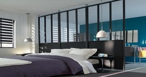 une cloison d co pour s parer sans assombrir. Black Bedroom Furniture Sets. Home Design Ideas