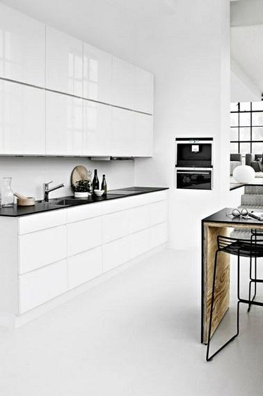 4 styles d co pour une cuisine blanche deco cool - Cuisine blanche design ...