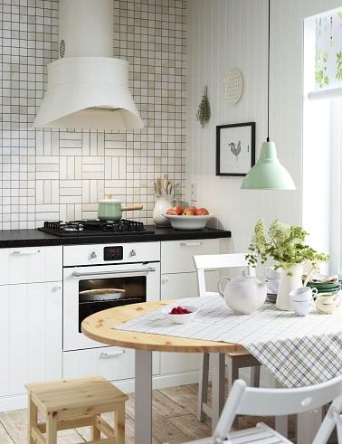 la cuisine vintage s 39 affirme en d co tendance. Black Bedroom Furniture Sets. Home Design Ideas