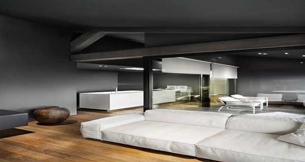 gris anthracite pour d co cuisine salon chambre. Black Bedroom Furniture Sets. Home Design Ideas
