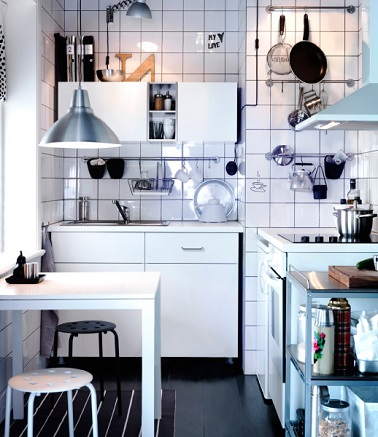 kitchenette ikea cr dence et rangements optimis s. Black Bedroom Furniture Sets. Home Design Ideas