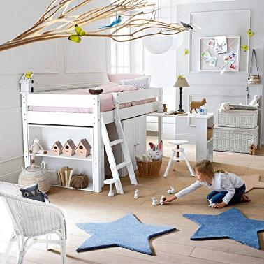 Un lit combin enfant pas cher deco cool for Chambre d enfant pas cher