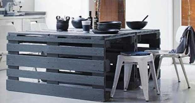 Meubles de cuisine meubles de cuisines - Faire des meubles en palette ...