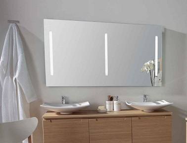 miroir led pour refaire sa salle de bain leroy merlin. Black Bedroom Furniture Sets. Home Design Ideas