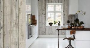 Papier peint cuisine 20 exemples d co pour l 39 adopter - Sous couche papier peint ...