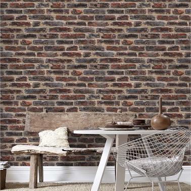peindre des briques dans une cuisine un mur en briques. Black Bedroom Furniture Sets. Home Design Ideas