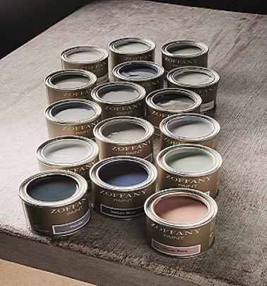 La nouvelle gamme de peintures Zoffany propose 16 nouvelles couleurs élégantes parfaites pour décorer la maison. Gris, rose, bleu ou vert, voici les nouveautés Zoffany.