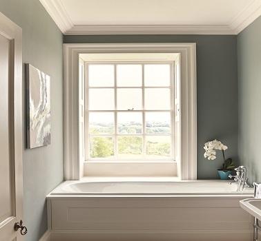 Peinture grise salle de bain couleur Aubusson Zoffany