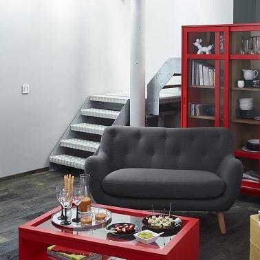 Petits canap s craquants pour studio et petit salon - Petit canape deux places ...