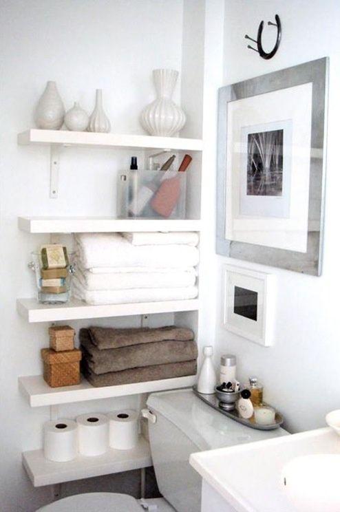 Petite salle de bain blanche - Deco salle de bain blanche ...