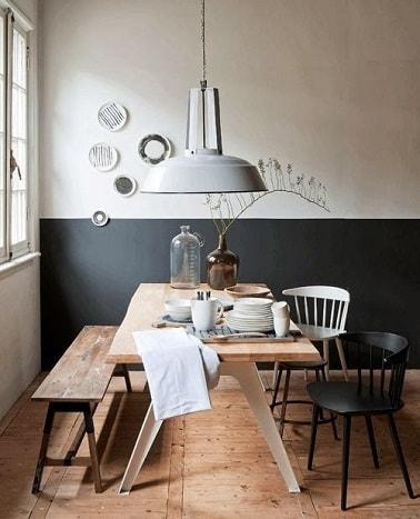 pour donner du peps une salle manger ou un coin repas dans une cuisine - Salle A Manger Gris Anthracite