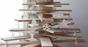 Sapin de no l en bois 10 diy d co pour s 39 inspirer - Fabriquer son sapin de noel en bois ...