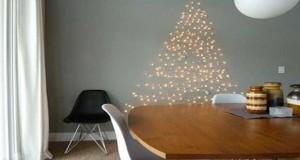 Cette année on bouscule la tradition du vrai sapin à noël et on mise sur un sapin de Noël original que l'on s'éclate à faire soi-même avec du bois, des guirlandes lumineuses, en origami...Des idées de sapin de Noël qui inspire votre originalité