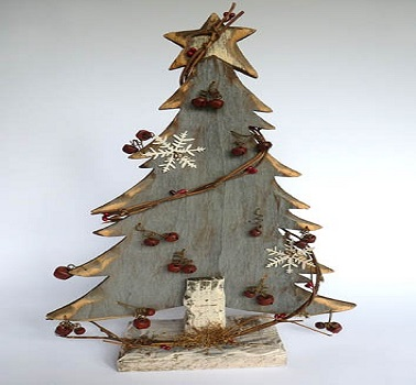 Sapin de no l en bois 10 diy d co pour s 39 inspirer - Decoration du sapin de noel ...