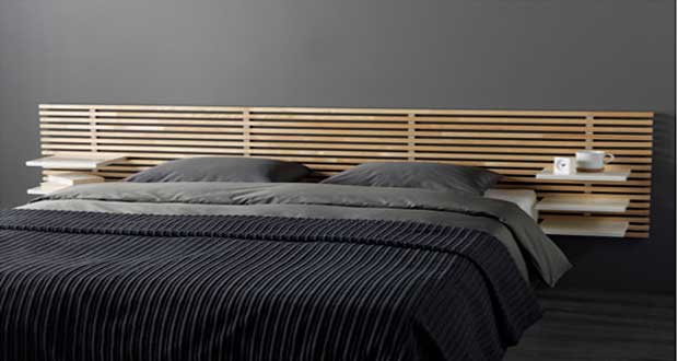 l 39 objet d co du jour une t te de lit originale. Black Bedroom Furniture Sets. Home Design Ideas