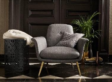 Ce fauteuil reprend les codes déco des années 50 pour un design au top de la tendance. Un fauteuil estampillé La Redoute qui s'annonce comme le must-have de cette rentrée.