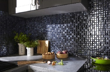 Une cr dence en carrelage adh sif mosa que - Mosaique adhesive leroy merlin ...