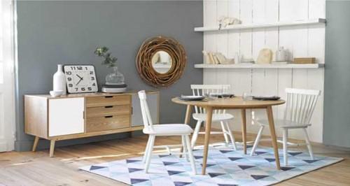 22 tapis maisons du monde laine coton cuir pour d co cosy. Black Bedroom Furniture Sets. Home Design Ideas