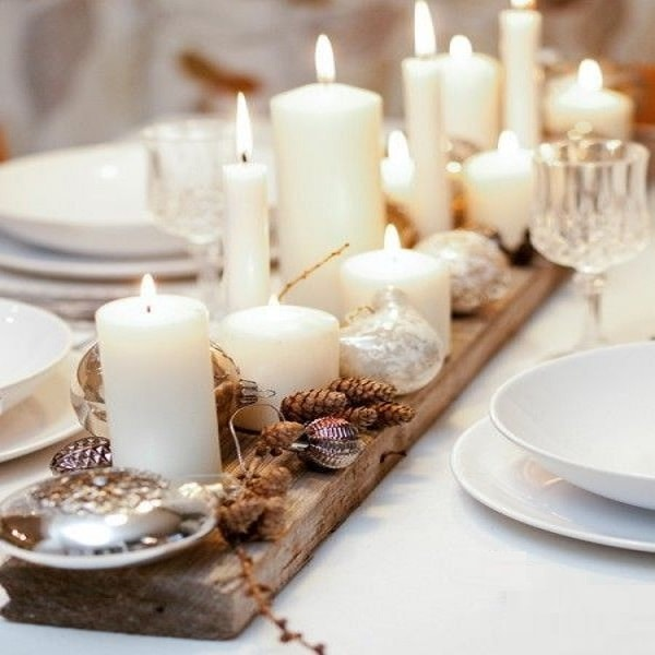 25 d co no l fabriquer en famille deco cool - Decoration de noel de table a faire soi meme ...