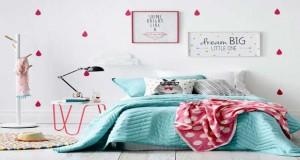 Ambiance couleur chambre cosy de brun chocolat tete de lit grise for Ambiance chambre fille