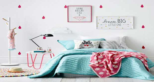 D co chambre dado fille for Decoration pour chambre fille
