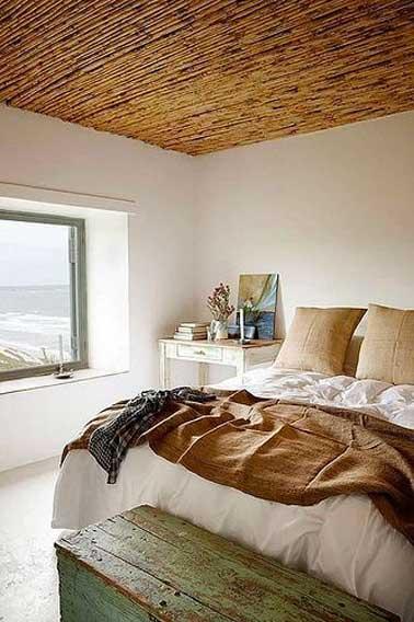 chambre parentale couleur lin ambiance cocooning. Black Bedroom Furniture Sets. Home Design Ideas