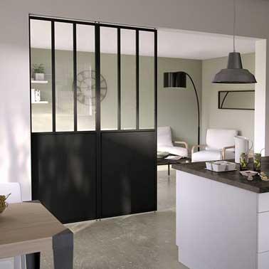 Cloison amovible pour optimiser son espace int rieur - Vente porte coulissante interieur ...