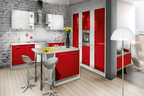 Belle cuisine moderne for Amenagement de cuisine americaine