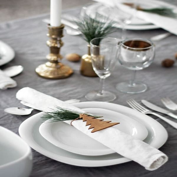 25 d co no l fabriquer en famille deco cool - Decoration de table de noel a faire soi meme ...