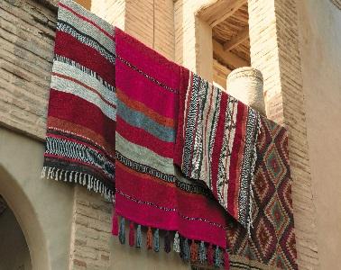 des tapis color s motifs en coton et laine maison du monde. Black Bedroom Furniture Sets. Home Design Ideas