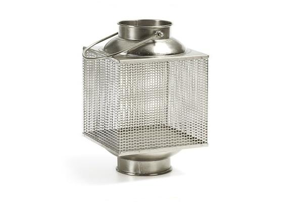 Une lanterne comme une cage en acier esthétique pour offrir en cadeau de Noël.