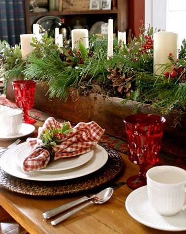 15 tables de no l la d co chicissime deco cool - Decoration table de noel pas cher ...