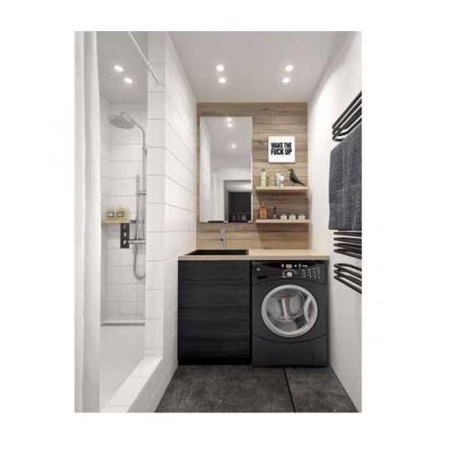 15 petites salles de bains pleines d 39 id es d co deco cool for Petite salle de douche italienne