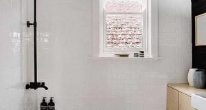 petite salle de bain hyper bien am nag e deco cool. Black Bedroom Furniture Sets. Home Design Ideas