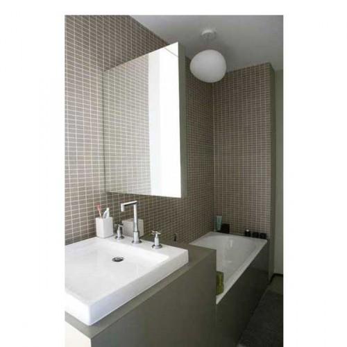 15 petites salles de bains pleines d 39 id es d co deco cool - Idee carrelage petite salle de bain ...