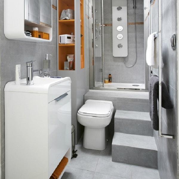 Amenagement petite salle de bain en longueur salle de - Salle de bain en longueur plan ...