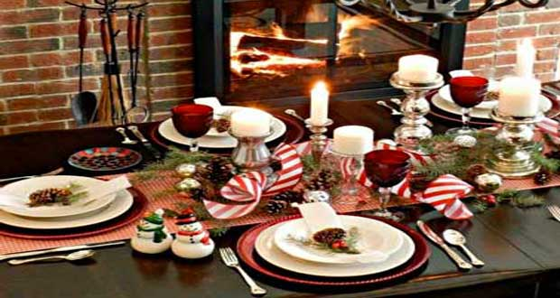 15 tables de no l la d co chicissime deco cool - Decoration de la table de noel ...