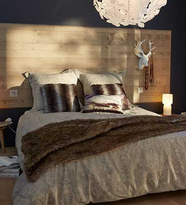 fabriquer une t te de lit avec 3 fois rien deco cool. Black Bedroom Furniture Sets. Home Design Ideas