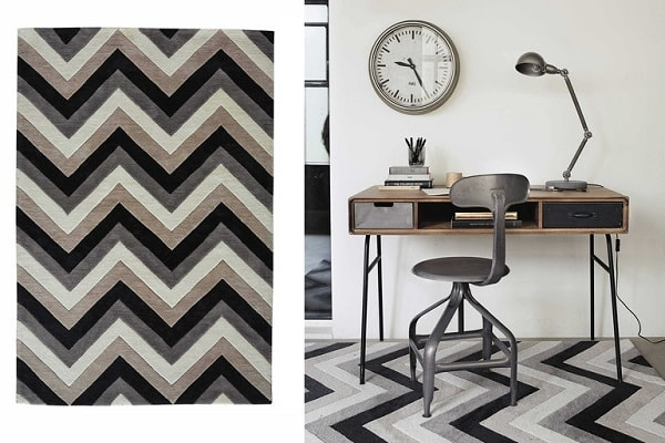 22 tapis maisons du monde pour une d co cosy deco cool. Black Bedroom Furniture Sets. Home Design Ideas
