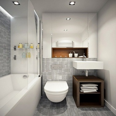 Pain d pices google and lieux on pinterest for Petite salle de bain deco
