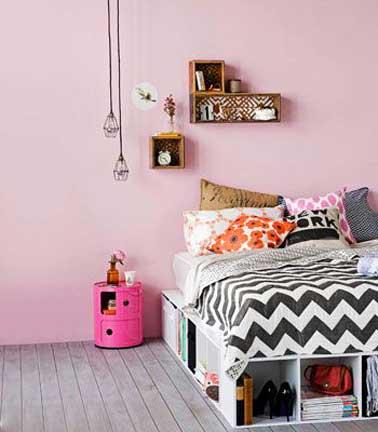 la chambre d 39 ado fille soigne son ambiance d co. Black Bedroom Furniture Sets. Home Design Ideas