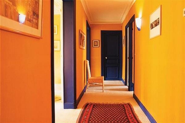 10 d co couloir canons pour s 39 inspirer deco - Idee de couleur pour un couloir ...