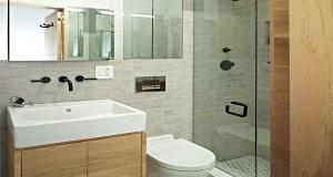 Petite salle de bain hyper bien aménagée Deco Cool