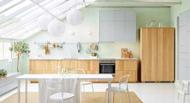 10 Kitchen open on the living room to the design decor