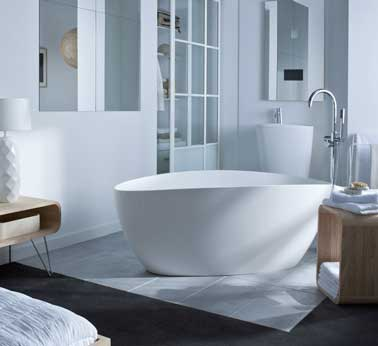 Quelle baignoire pour une salle de bain zen deco cool - Salle de bain zen leroy merlin ...
